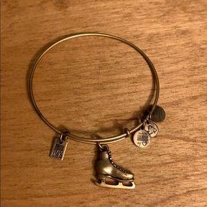 """"""" Team USA ice skate"""" alex & ani bracelet"""